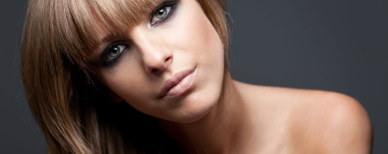 Seductive and Alluring. You can create a whole new look from an old hairstyle by creating a new fashionable chunky bang.