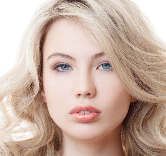 Really lovely big beach waves showing off the nice ash blond highlights